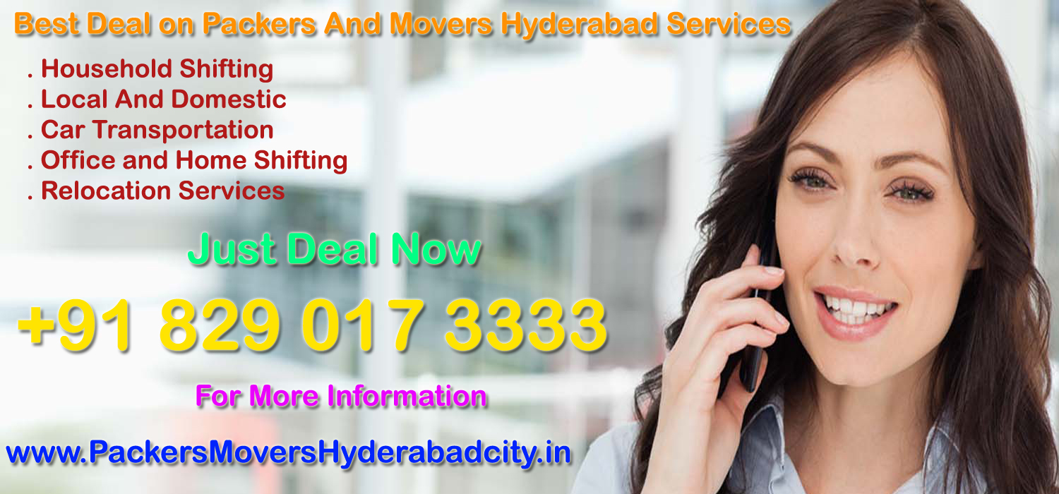 Local Packers And Movers Hyderabad Charges